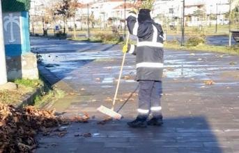 Karasu'da temizlik işleri dur durak bilmiyor