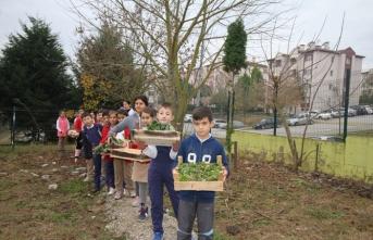 """Osmanbey ilkokulunda """"evde yaşam becerileri atölyesi' açıldı"""