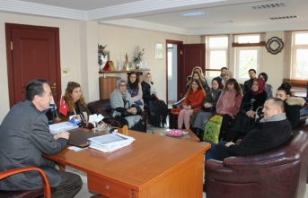 Atanan öğretmenlerden arifiye belediyesine ziyaret