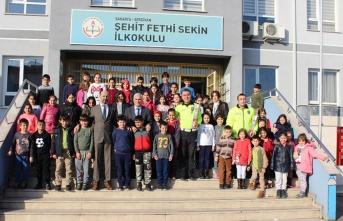Şehit Fethi Sekin İlkokulunda Anma Programı