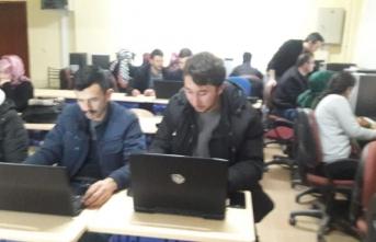 Taraklı'da Bilgisayar ve ilk yardım kursuna yoğun ilgi