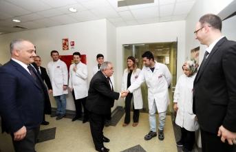 Vali nayir elvan gıda fabrikasını ziyaret etti