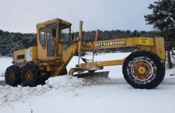 Büyükşehir karla mücadele ekipleri teyakkuzda