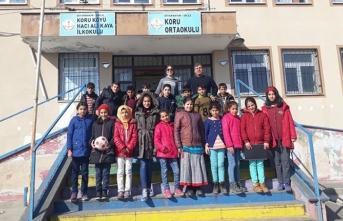 Diyarbakır'lı minik öğrencilerinden teşekkür