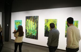 'Düşsel Tavırlar' resim sergisi OSM'de açıldı