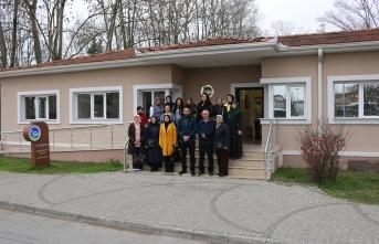 Halk Eğitim kursiyerlerinden YADEM'e anlamlı ziyaret