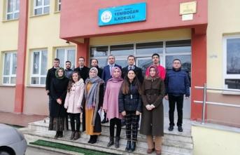 Serkan KORKMAZ'dan okullara ziyaret