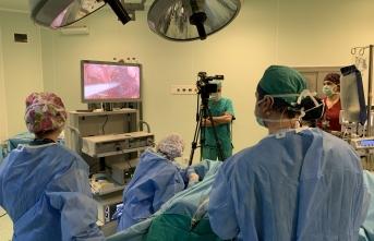 Tıp Fakültesinde Laparoskopik Cerrahi Kursu