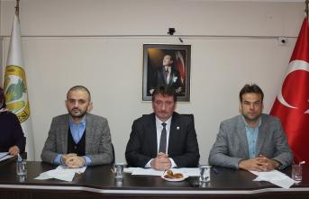 Ferizli belediye meclis toplantısında şehitlerimiz yad edildi!