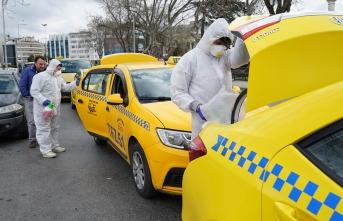 İstanbul taksileri brc işbirliğiyle dezenfekte edildi!