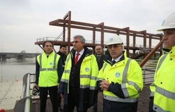 Şehrin sosyal yaşantısına bu proje büyük katkı sunacak