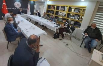 Arif Özsoy, Video Konferansla toplantı yaptı