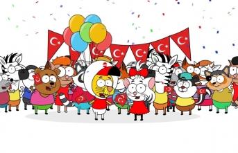 Cartoon Network 23 Nisan'ın 100. Yılını özel bir şarkıyla kutluyor