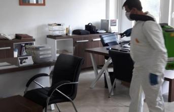 Karasu'da Dezenfekte Çalışmaları Aralıksız Devam Ediyor