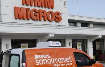 Migros, online satış kapasitesini artırmak için gölge mağazaları devreye aldı