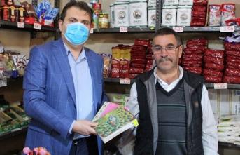MÜSİAD, 6 Bakkalın Veresiye Defterini Alarak, Vatandaşın Borcunu Ödedi