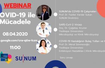Sabancı Üniversitesi Covid-19 ile mücadeledeki bilgi birikimini webinar seminerleriyle paylaşıyor