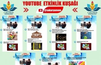 Sakarya MEM'in Youtube Etkinlik Kuşağı yayın akışı