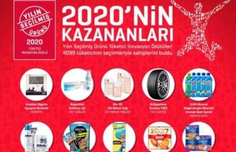Türk tüketicileri yılın ürünlerini seçti.