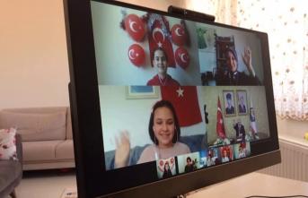 Vali Nayır ile Telekonferansla 23 Nisan'ı kutladı