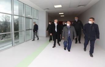 Vali Nayir Yeni Hastaneyi Yerinde İnceledi