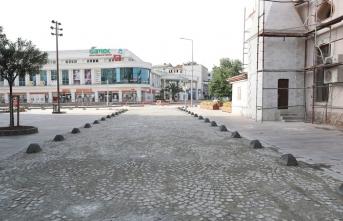 Bankalar caddesinin o kısmı yenilendi