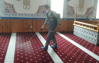 Karasu Belediyesi Tüm Camilerde Hijyen Çalışması Başlattı