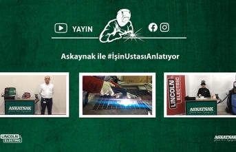 Lincoln Electric Türkiye #işinustasıanlatıyor serisi ile kaynak sektörüne katkı sunmaya devam ediyor