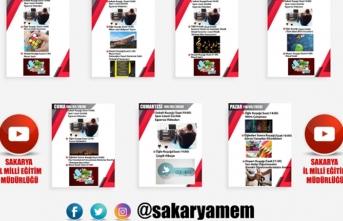 Sakarya MEM'in Youtube Etkinlik Kuşağında Bu Hafta