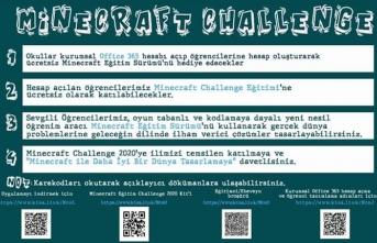 """Sakarya """"Minecraft Eğitim Challenge 2020"""" İçin Hazırlanıyor"""