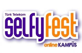 Selfy ile bayramda gençlere online festival