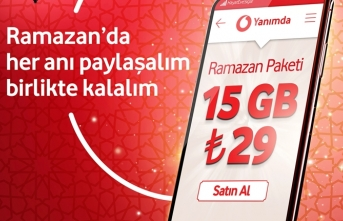 Vodafone'dan Ramazan'a özel15 gb mobil İnternet