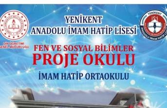 Yenikent anadolu imam-hatip lisesi fen ve sosyal bilimler proje okulu oldu