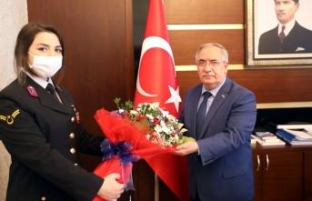 Jandarma Teşkilatından Vali Nayir'e 181. Yıl Dönümü Ziyareti