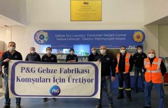 P&G Gebze Fabrikası çalışanları komşularını unutmadı