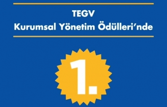 TEGV, En Yüksek Kurumsal Yönetim Derecelendirme Notuna Sahip STK Oldu