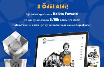 """""""TEGV Sanal Müze"""" 18. Altın Örümcek'te Eğitim Kategorisinde Halkın Favorisi Oldu"""