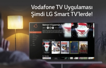 Vodafone Tv Uygulamasi, Lg Smart Tv'lere Eklendi̇