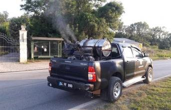 Karasu Belediyesi'nden Sinek ve Sivrisinekle Etkin Mücadele