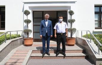 Albay Yiğit'ten Başkan Yüce'ye veda ziyareti