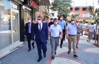 Karasu'da Korona Virüs Denetlemesi Yapıldı