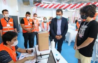 Sakarya'da Deneyap Uygulama Sınavı Yapıldı
