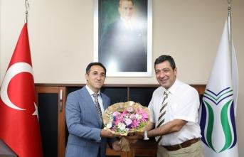Turizm Fakültesi'nin yeni dekanı göreve başladı