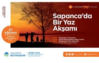 Yaz kültür sanat etkinliklerinde adres Sapanca