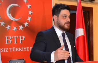 Bağımsız Türkiye meşalesi asla sönmeyecek