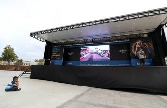 Bisiklet şampiyonası tanıtım tırı Sakarya'dan yola çıktı