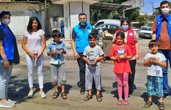 Genç toplum gönüllülerine SUBÜ desteği