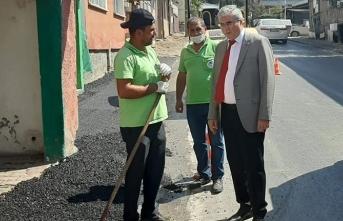 Maltepe Caddesi'nde kalan bin 300 metrelik güzergah yenilenecek