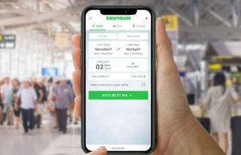 Türkiye'de bir ilk! ENUYGUN ile uçak bileti, otobüs bileti ve otel aynı anda tek bir uygulamada!