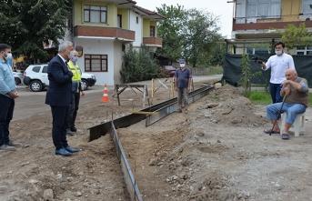 Yollar genişliyor, Sel baskınlarına menfezli önlem alınıyor